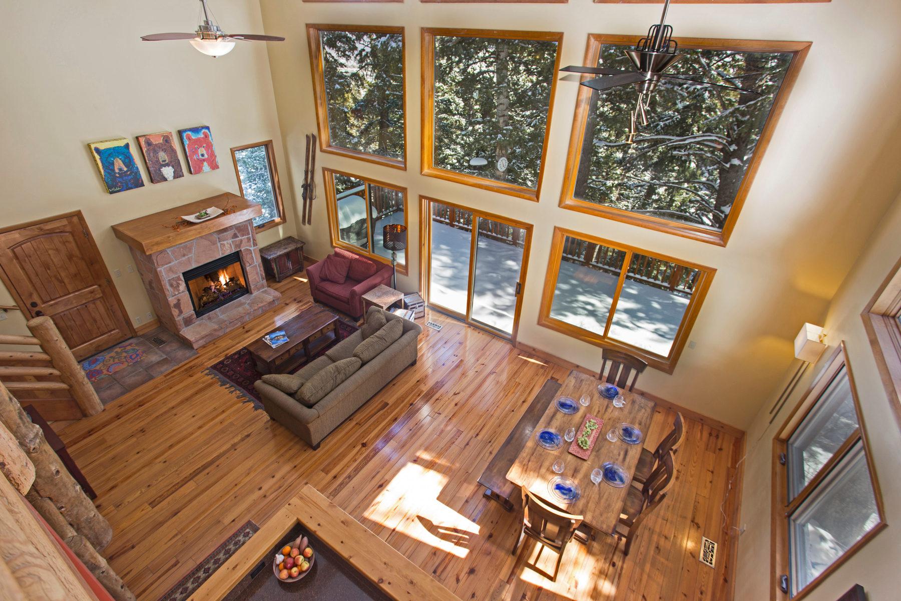 一戸建て のために 売買 アット Serene Alpine Treehouse Nestled in Summit Park 100 Innsbruck Strasse Park City, ユタ, 84098 アメリカ合衆国