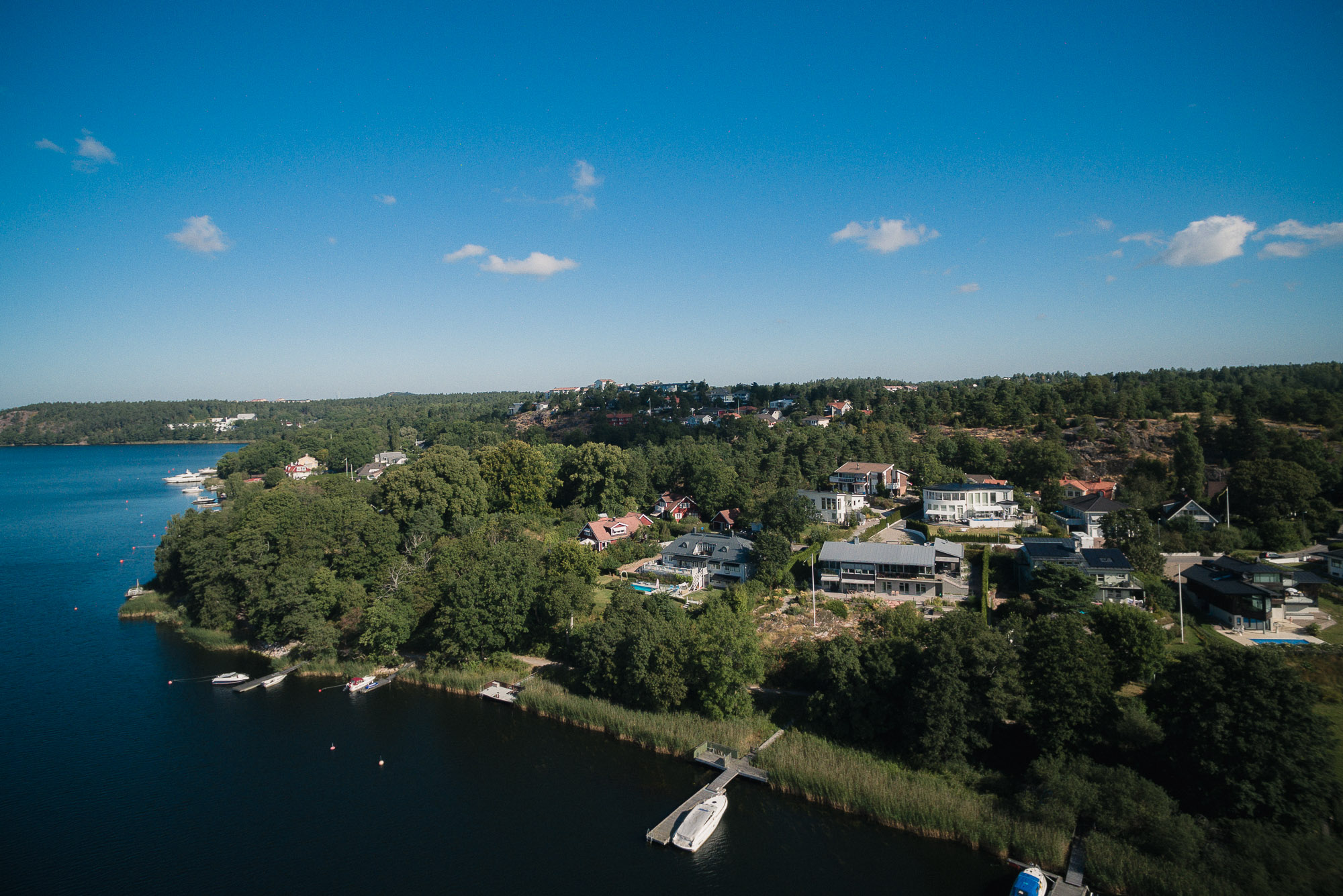 Property For Sale at Classic villa on lake Edsviken
