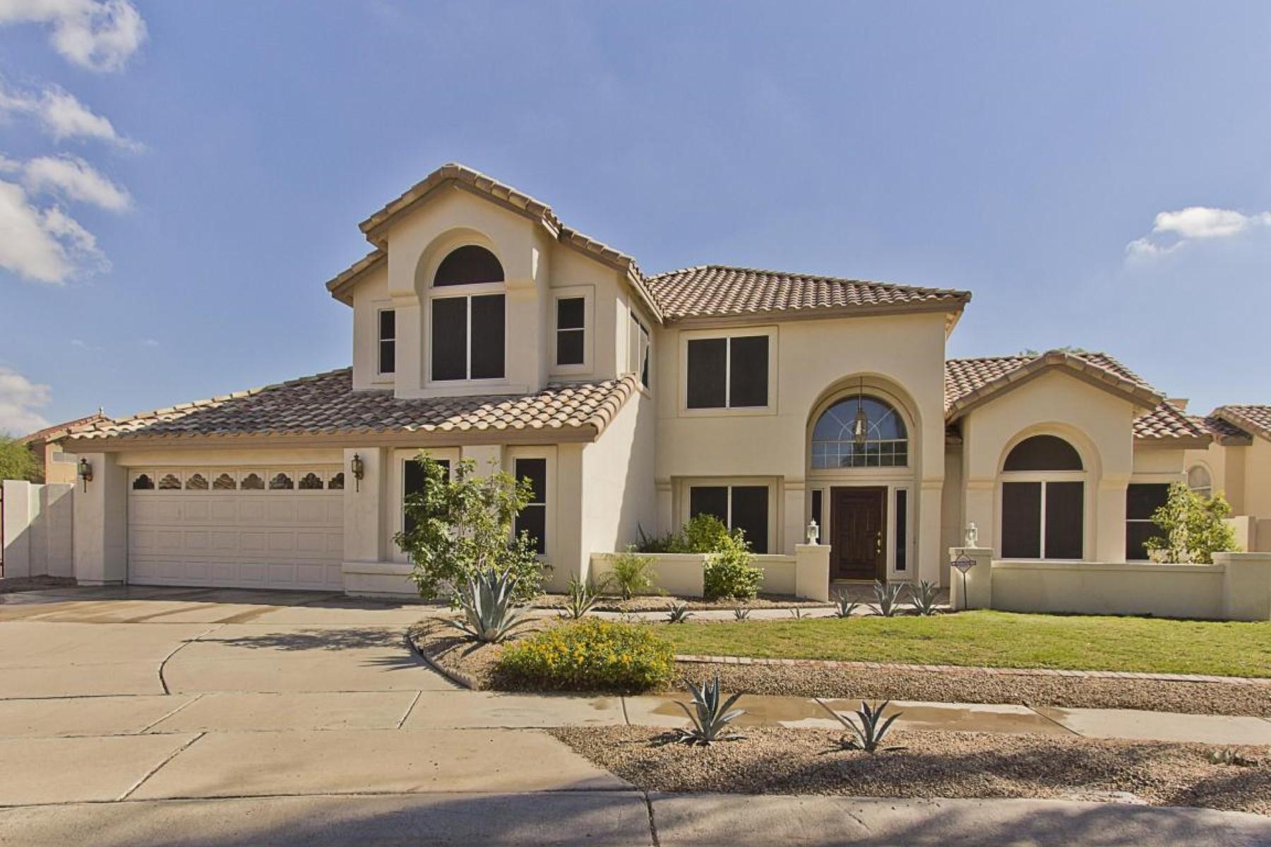 Частный односемейный дом для того Продажа на Sought After Seville Model in Prestigious Diamond Ridge 3723 E Park Ave E Phoenix, Аризона 85044 Соединенные Штаты