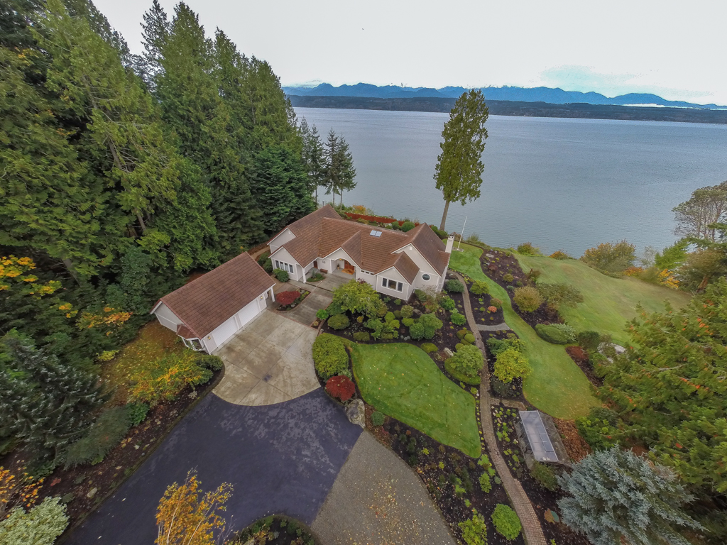 Single Family Home for Sale at Waterfront Estate 24285 Johnson Rd NW Poulsbo, Washington 98370 United States