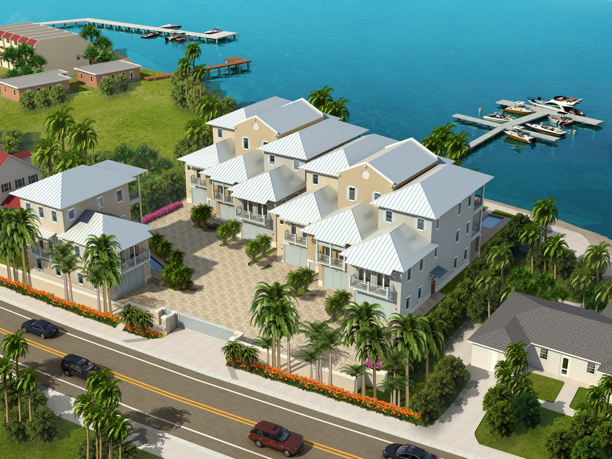 Moradia em banda para Venda às Riverfront Ultra-luxury townhome 1502 Seaway Drive #6 Fort Pierce, Florida 34949 Estados Unidos
