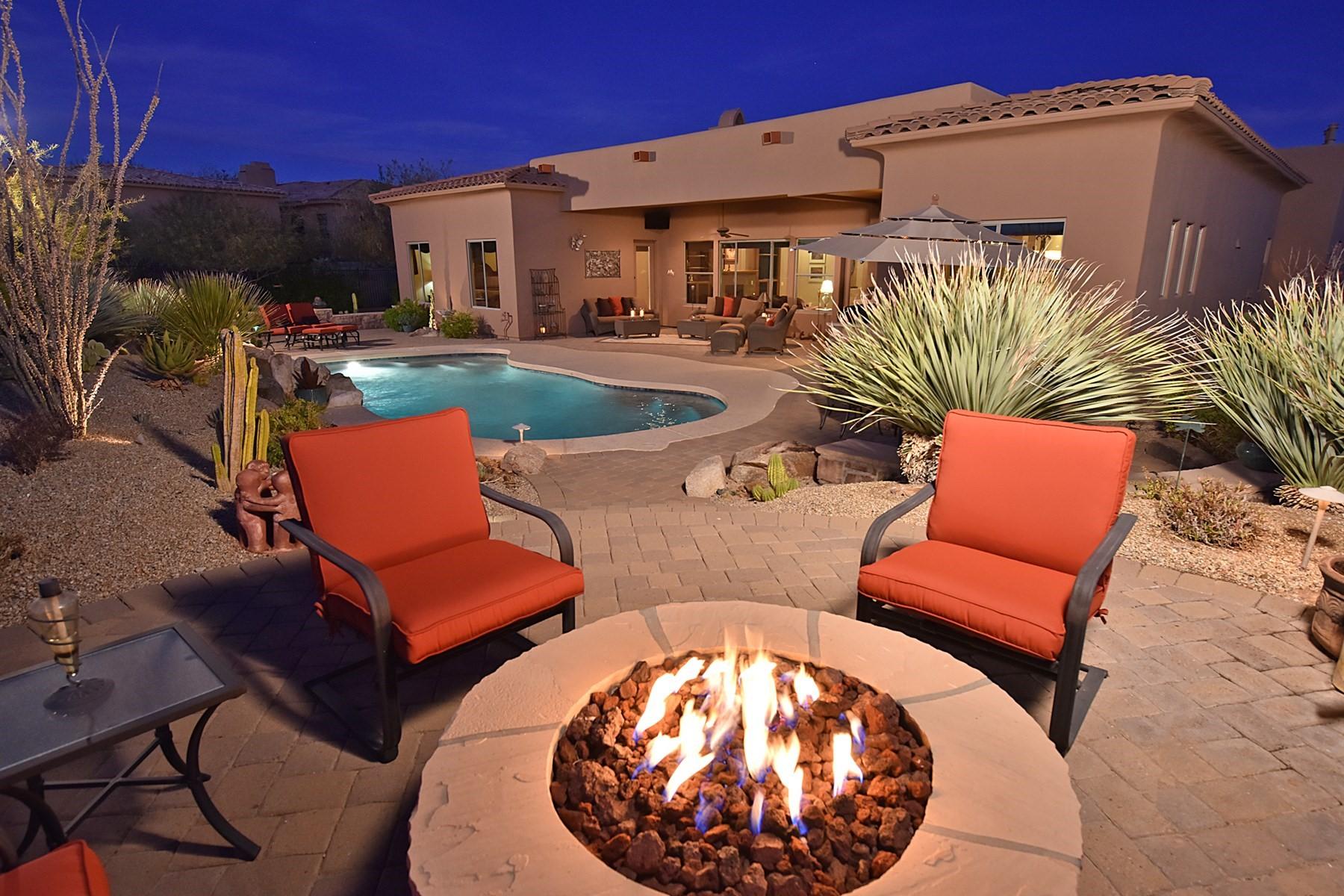 一戸建て のために 売買 アット Soft territorial Boulder Heights home with beautiful views 36458 N Boulder View Dr Scottsdale, アリゾナ, 85262 アメリカ合衆国