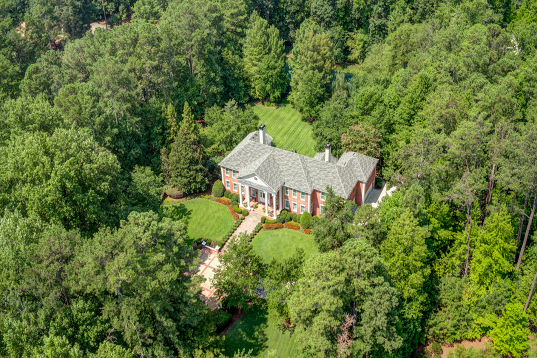 Single Family Home for Active at Meticulous Custom Built Home On Five Acres 4500 Candacraig Alpharetta, Georgia 30022 United States