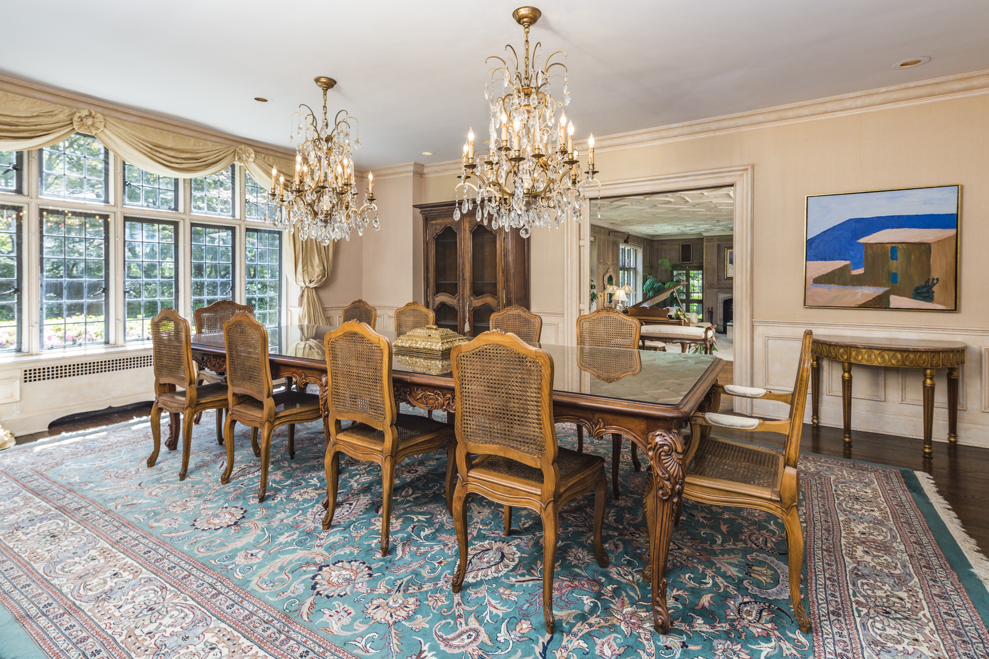 Property Of Normandy-inspired Manor in Princeton