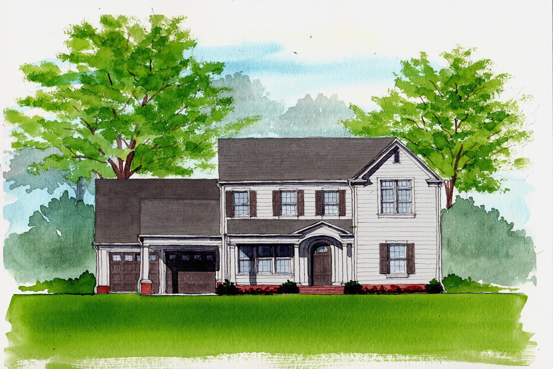 Maison unifamiliale pour l Vente à Beautiful New Construction - Custom Designed Home in Sandy Springs 743 Spalding Drive Sandy Springs, Georgia, 30328 États-Unis
