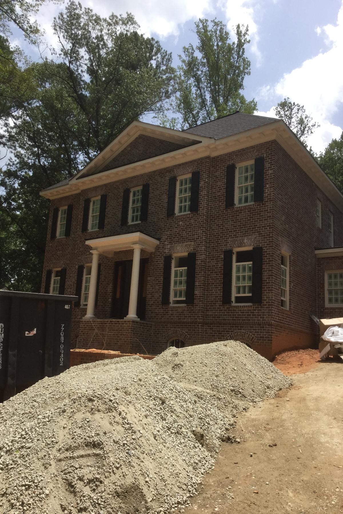 Nhà ở một gia đình vì Bán tại New North Buckhead Home 755 Stovall Boulevard Buckhead, Atlanta, Georgia 30342 Hoa Kỳ