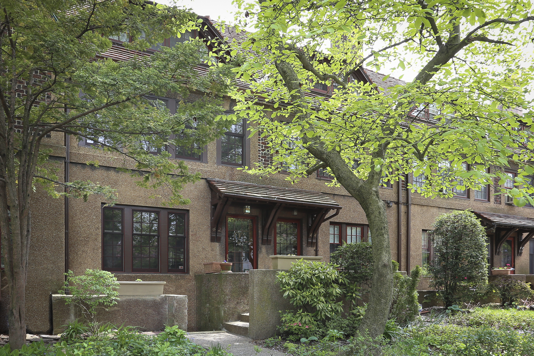"Townhouse for Sale at ""PHILOSOPHER'S ROW TOWNHOME IN FOREST HILLS GARDENS"" 42 Slocum Crescent, Forest Hills Gardens, Forest Hills, New York 11375 United States"