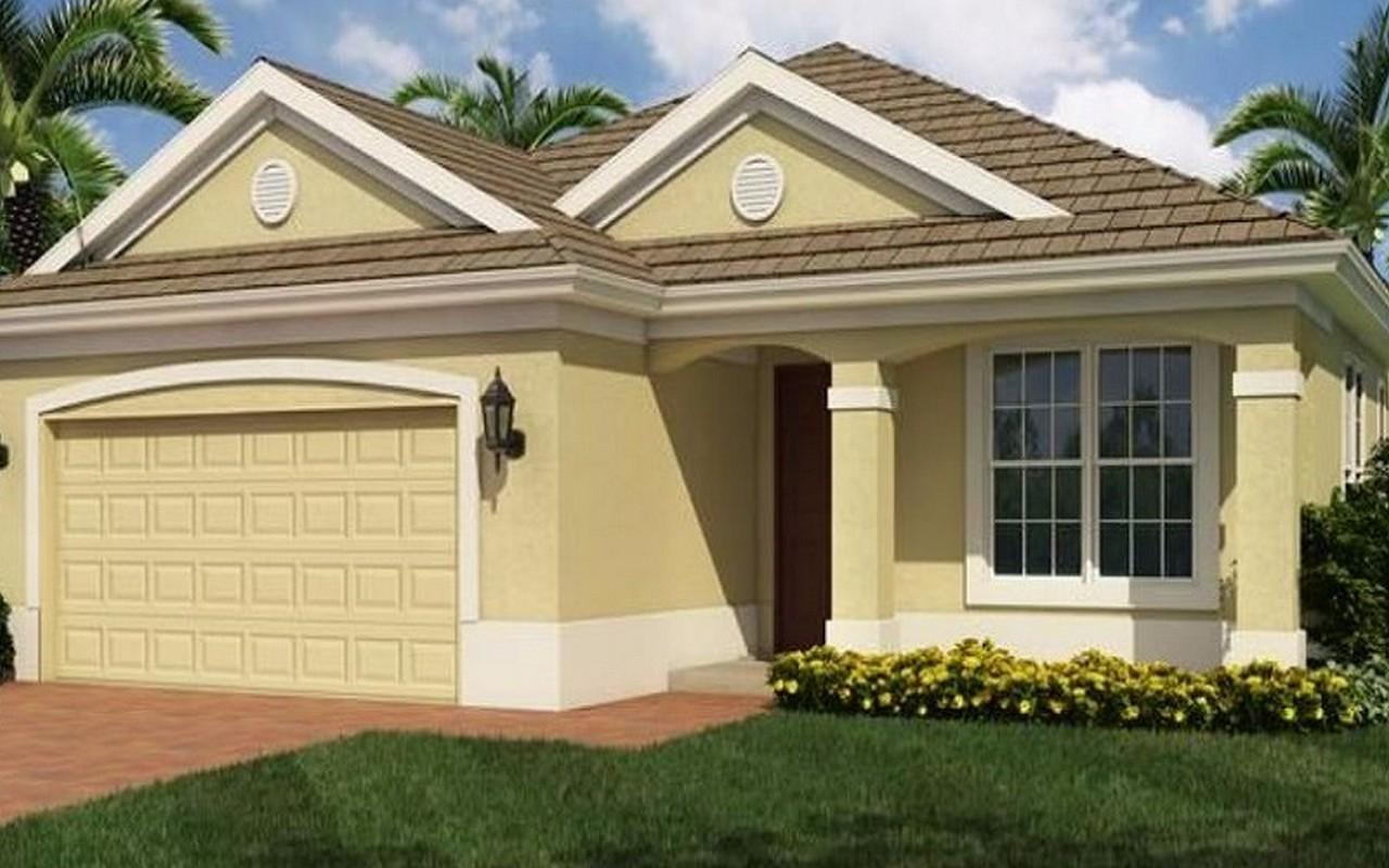 Casa para uma família para Venda às Upgraded Landscaping for Privacy! 10081 Roehamton Court SW Port St. Lucie, Florida, 34987 Estados Unidos