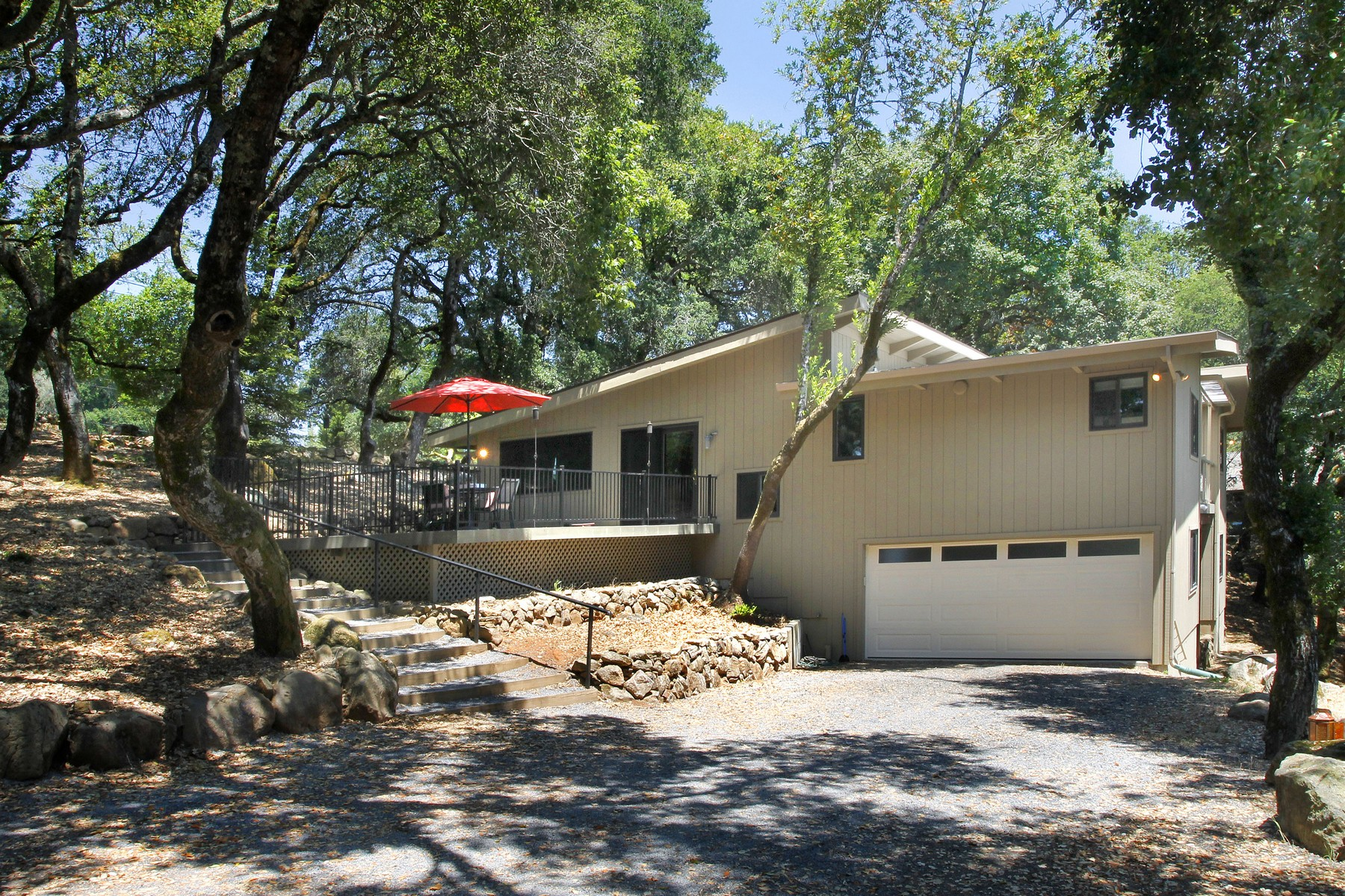 Single Family Home for Sale at Country Retreat 2934 Bardy Road Santa Rosa, California 95404 United States