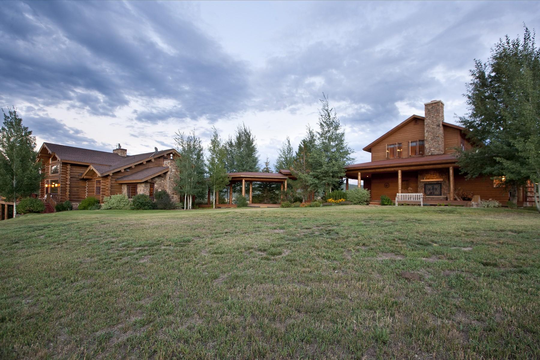 Einfamilienhaus für Verkauf beim Creek Ranch Estate 25430 Rainbow Ridge Steamboat Springs, Colorado 80487 Vereinigte Staaten