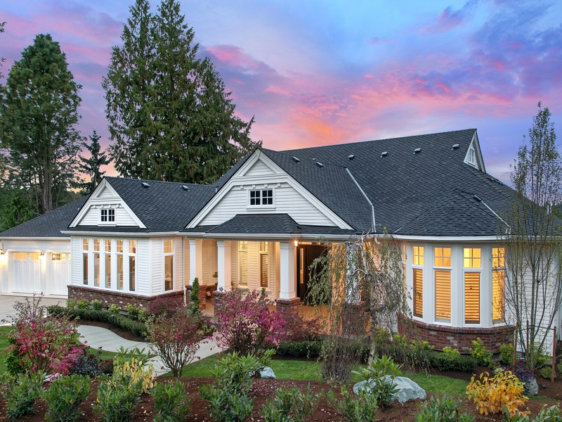 Single Family Home for Sale at Newly Completed Hamptons Estate - West Bellevue 1035 89TH AVE NE Bellevue, Washington 98004 United States