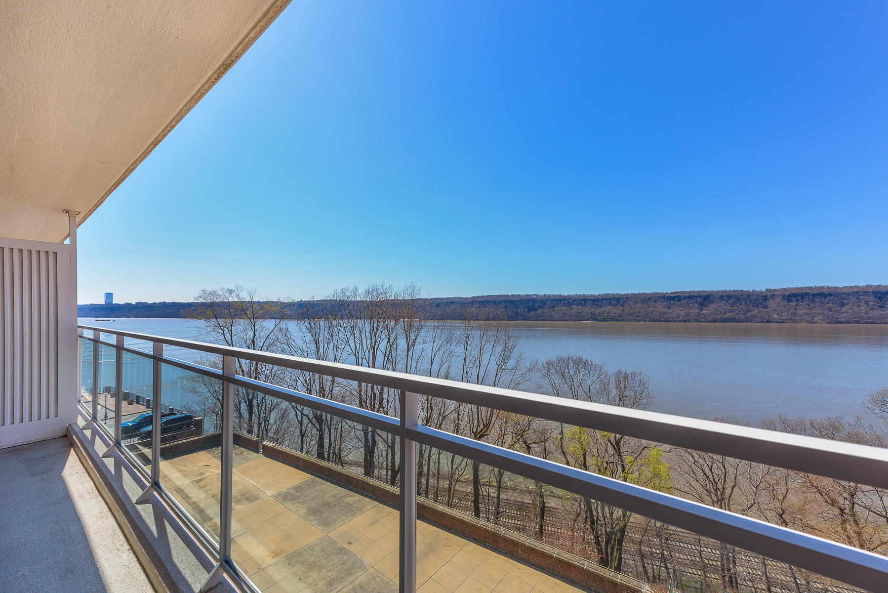 sales property at Large  1 BR with Terrace and River Views