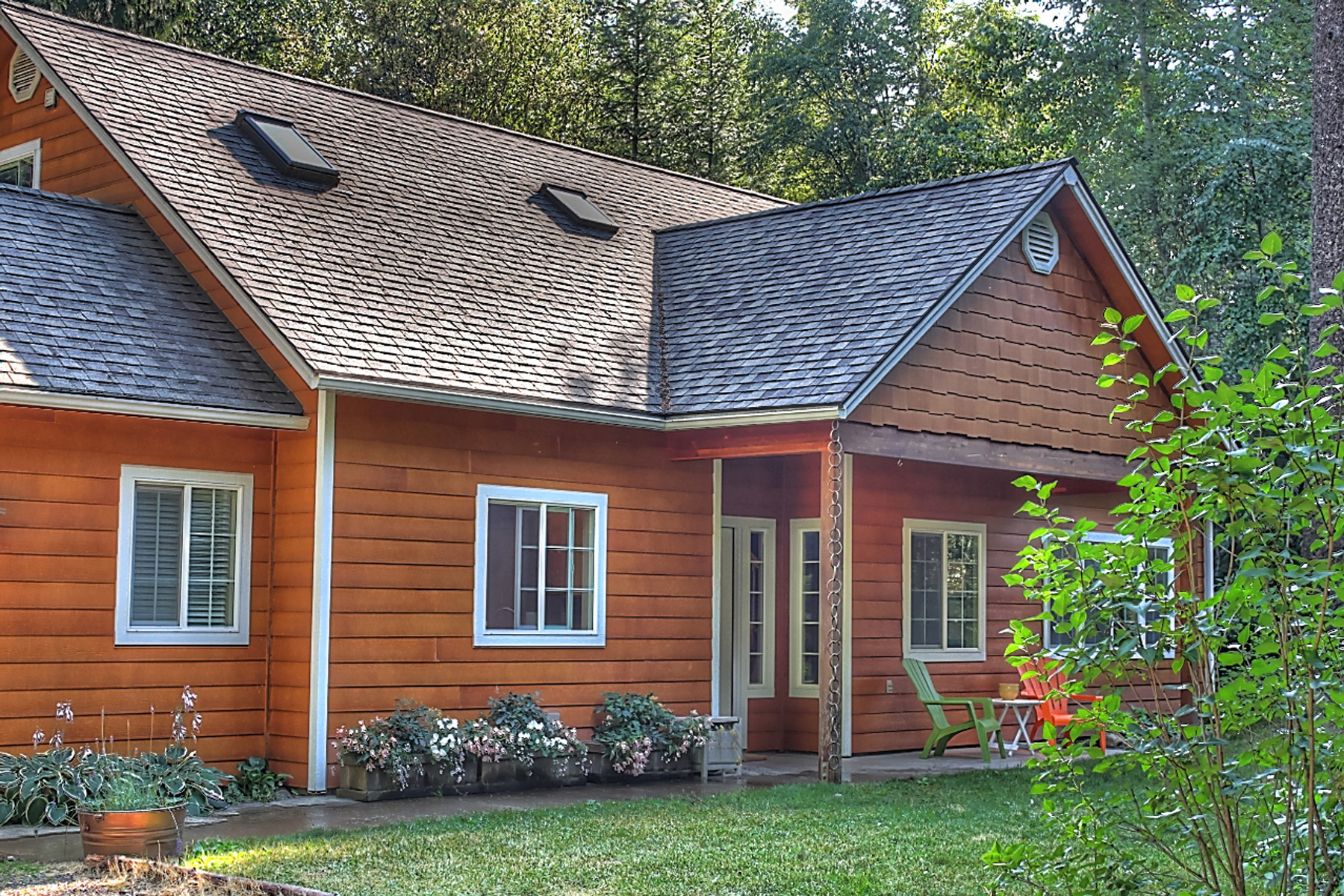 Single Family Home for Sale at Contemporary Rustic Home 408 Sherwoods Rd Sagle, Idaho 83860 United States