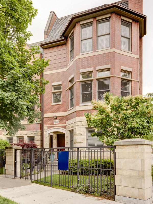 Vivienda unifamiliar por un Venta en Desirable Corner Rowhome 4103 N Southport Avenue Lakeview, Chicago, Illinois 60613 Estados Unidos