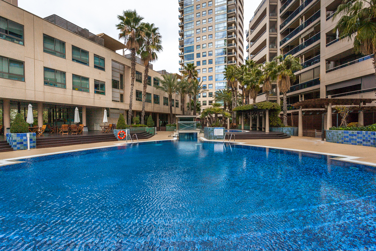 Apartment for Sale at Flat located in the exclusive residential area of Illa de Llac in Diagonal Mar Barcelona City, Barcelona Spain