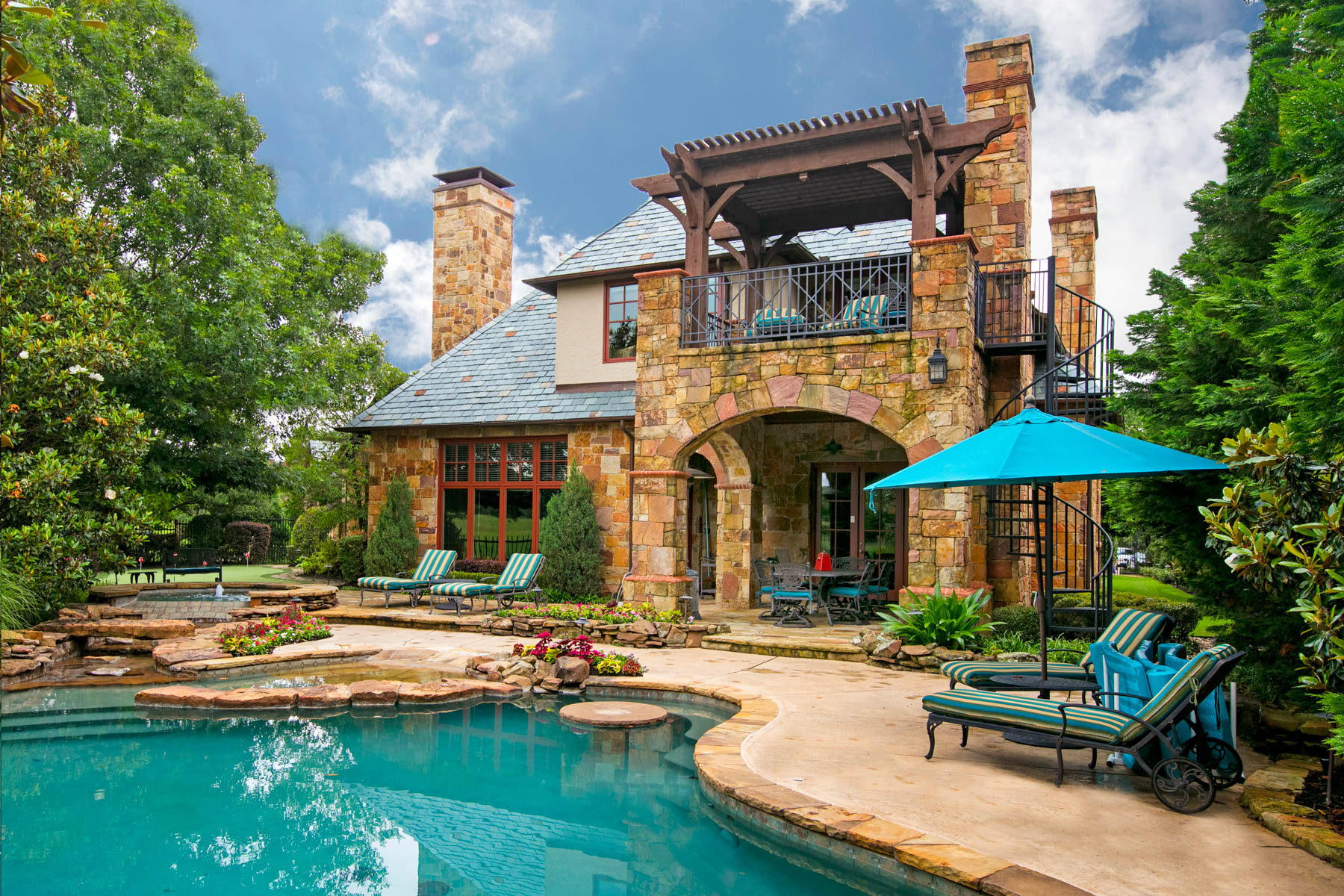 sales property at Elegant Village Home on the Golf Course in the Gated Community of Vaquero