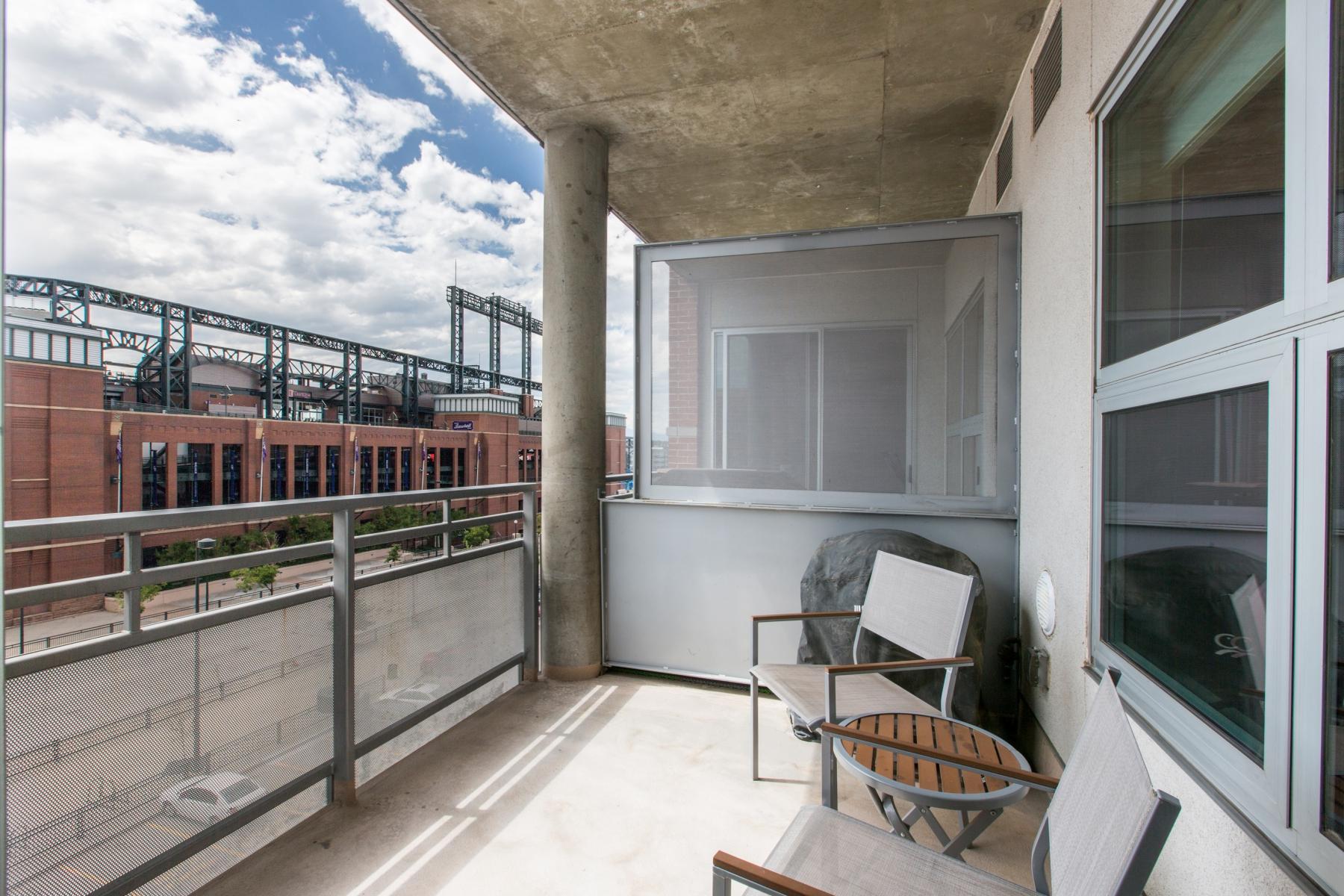Condominium for Sale at Extraordinary 5th floor home in Zi Lofts 2229 Blake St #505 Denver, Colorado 80205 United States