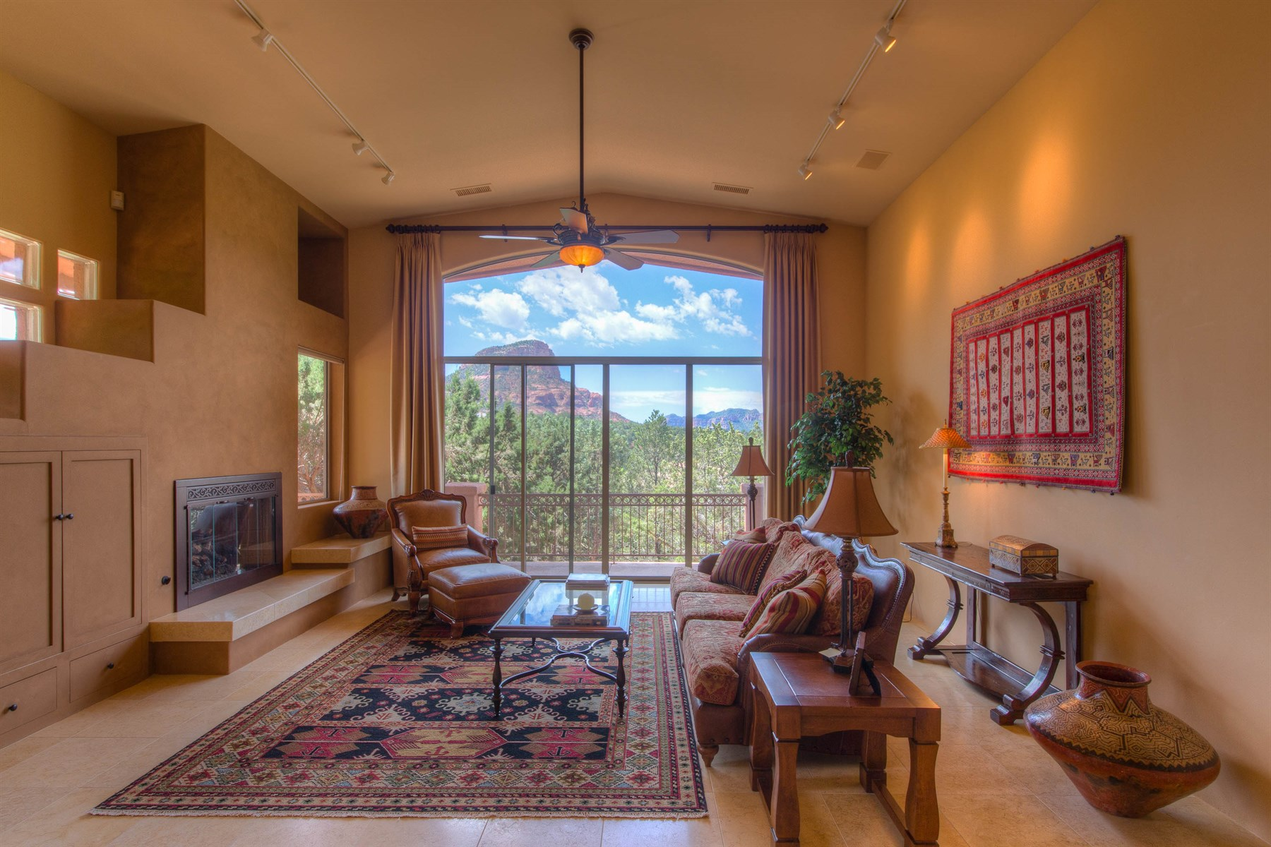 Single Family Home for Sale at Beauty, Serenity, and Privacy 141 N Palisades DR Sedona, Arizona, 86336 United States