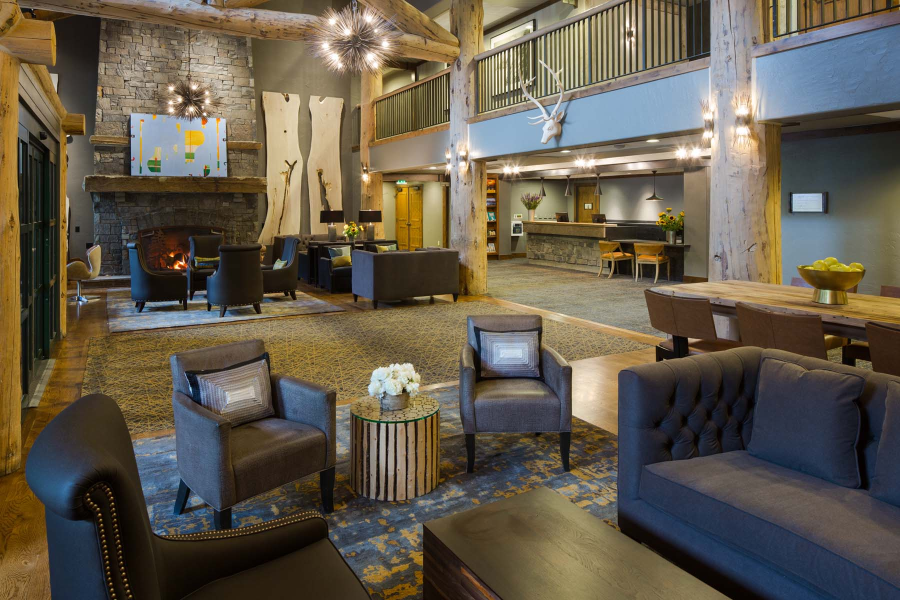 sales property at Teton Mountain Lodge Bi-Level Penthouse