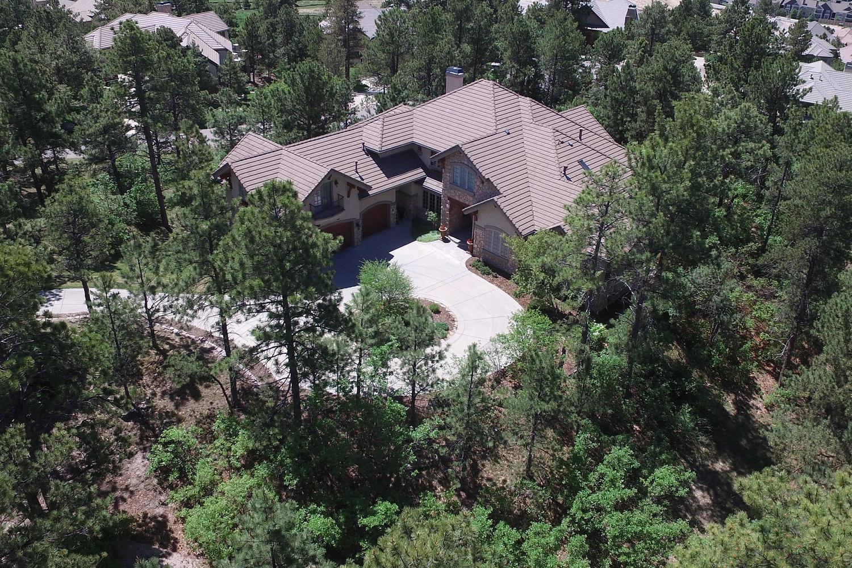Maison unifamiliale pour l Vente à Must see, agressive new price, elegant retreat 644 Ruby Trust Way Castle Rock, Colorado, 80108 États-Unis