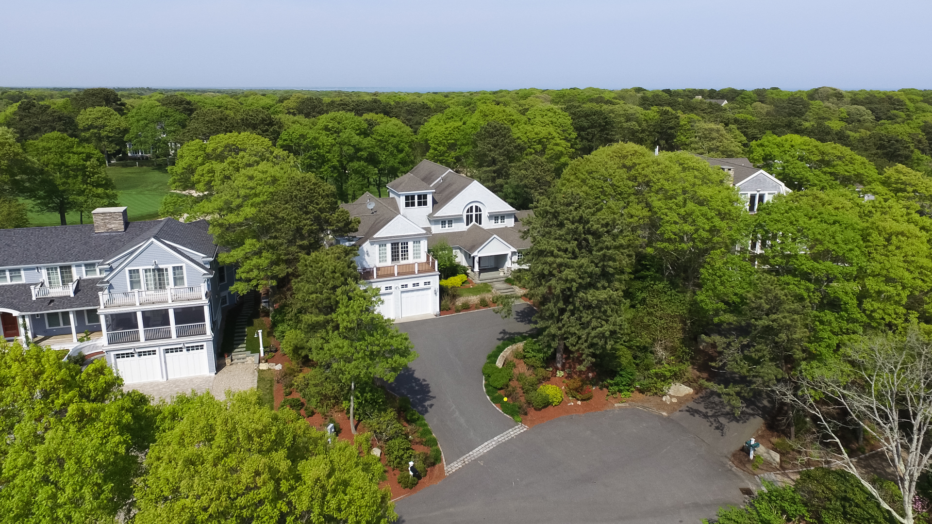 Single Family Home for Sale at EXQUISITE GOLF FRONT 236 Glenneagle Drive New Seabury, 02649 United States