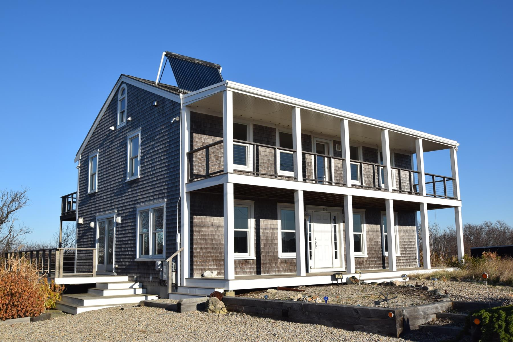 Single Family Home for Sale at Beach Point 595 Shore Road Truro, Massachusetts, 02666 United States