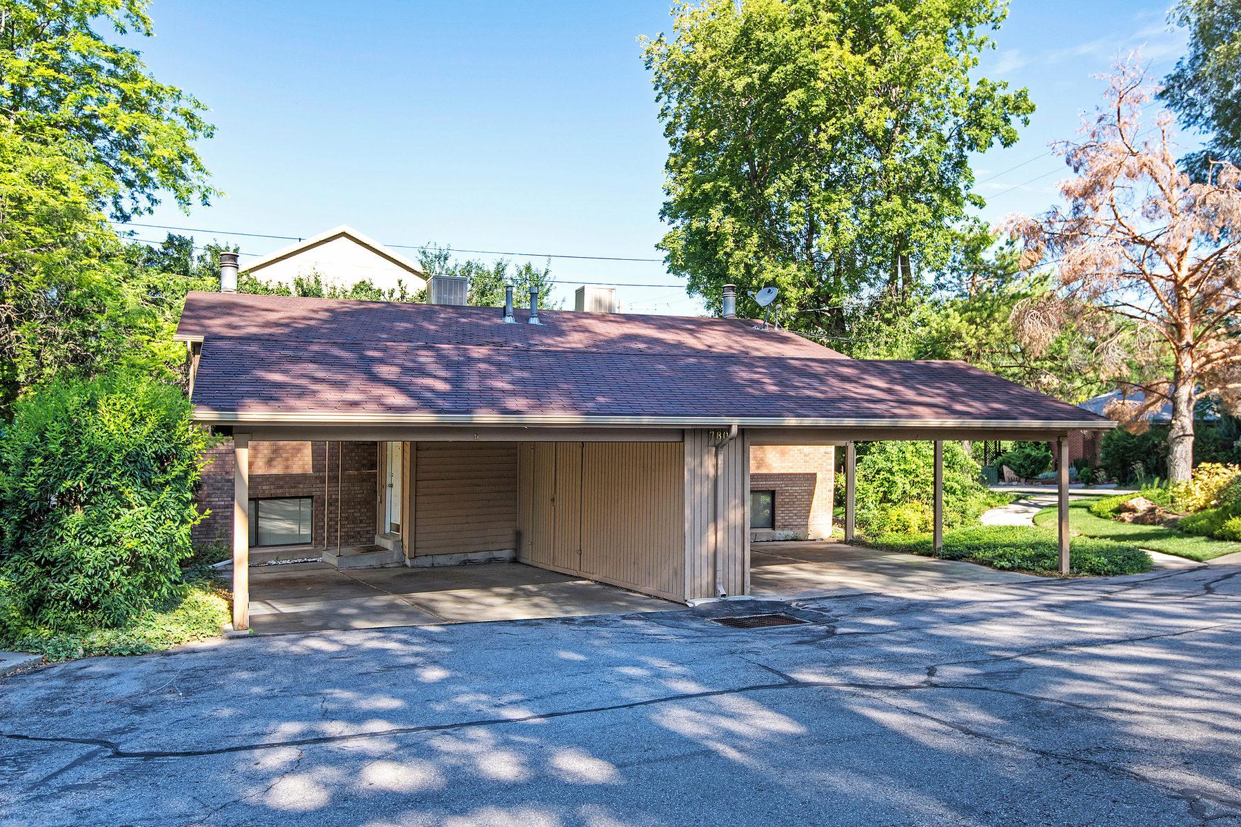Condominium for Sale at Lovely Millcreek Condo 780 E Scott Ave #1B Salt Lake City, Utah 84106 United States