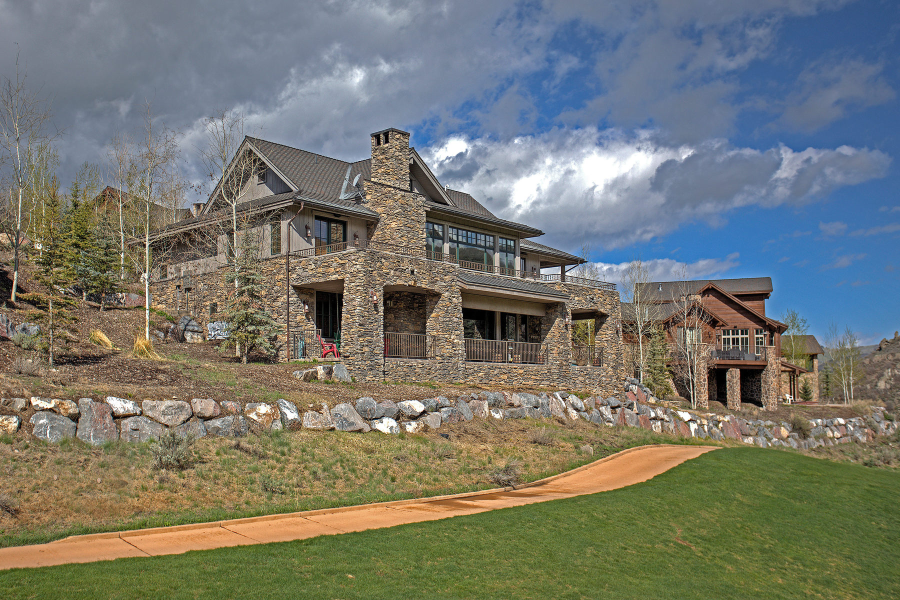 Casa Unifamiliar por un Venta en Mountain & Western Elegance Cabin 8769 Ranch Club Ct Lot 14 Park City, Utah 84098 Estados Unidos