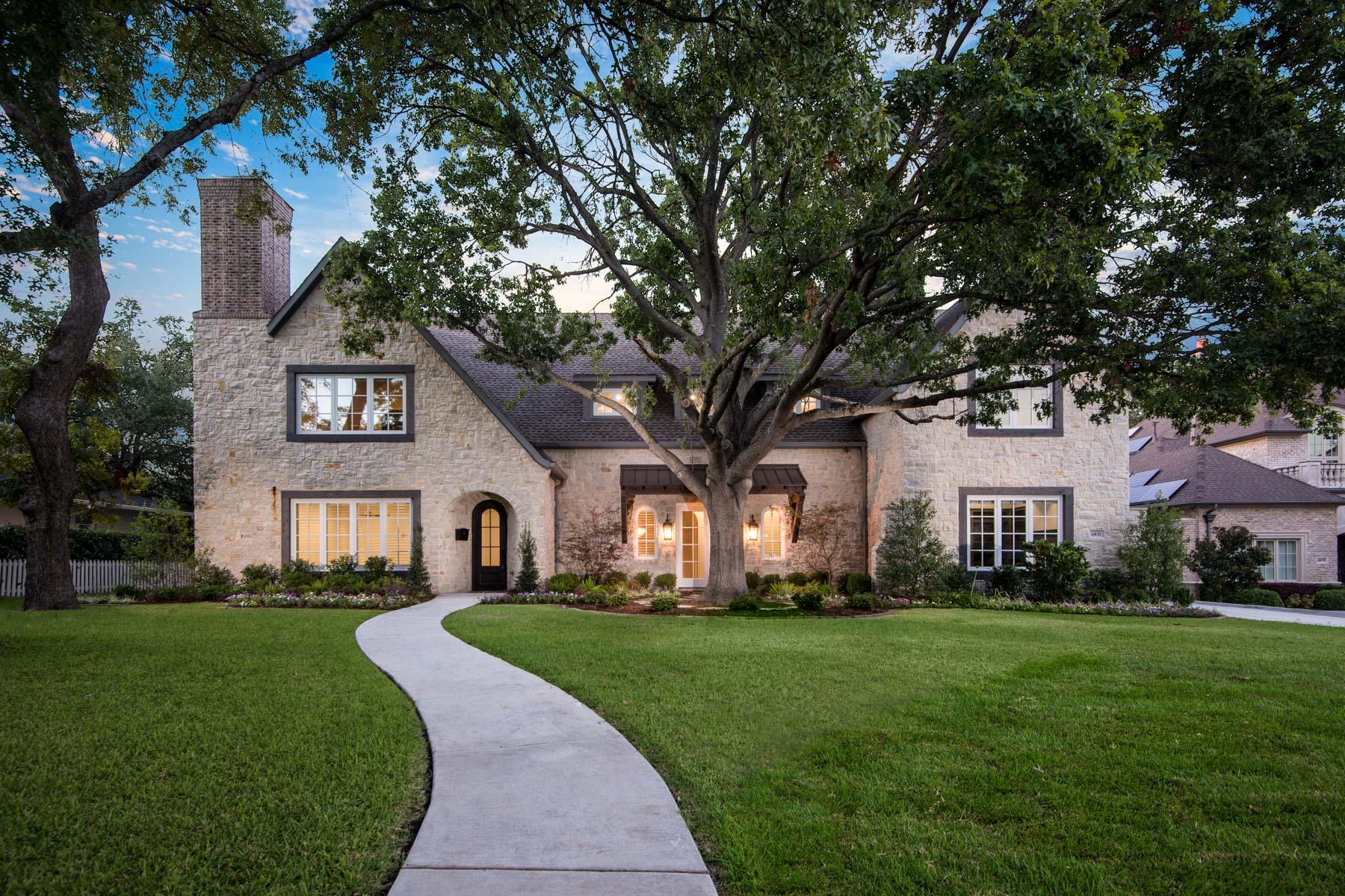 Tek Ailelik Ev için Satış at Preston Hollow 6831 Pemberton Drive Dallas, Teksas, 75230 Amerika Birleşik Devletleri