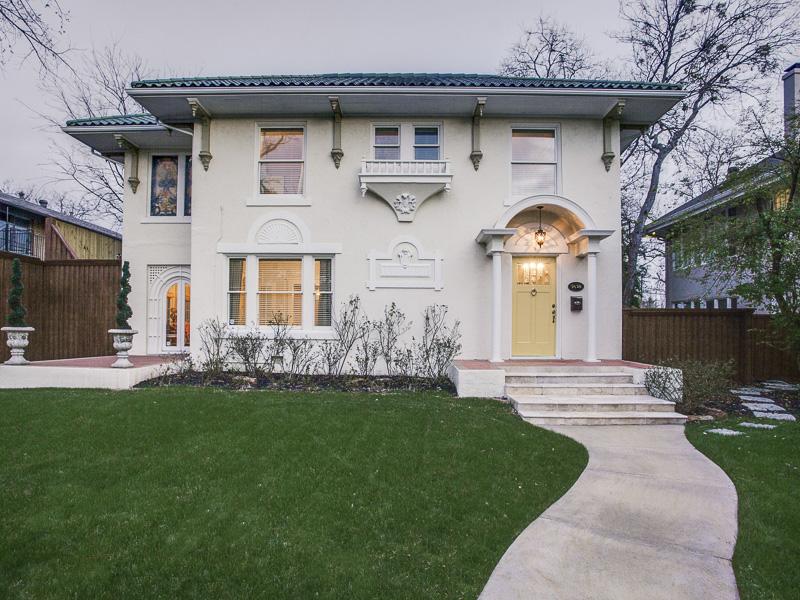 Villa per Vendita alle ore Historic Mediterranean 5638 Gaston Avenue Dallas, Texas 75214 Stati Uniti