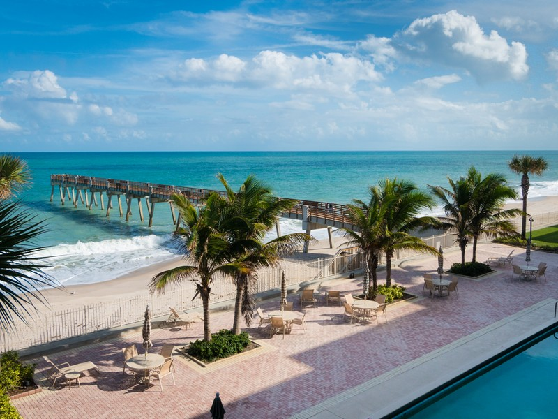 rentals property at Gorgeous Oceanfront Condo