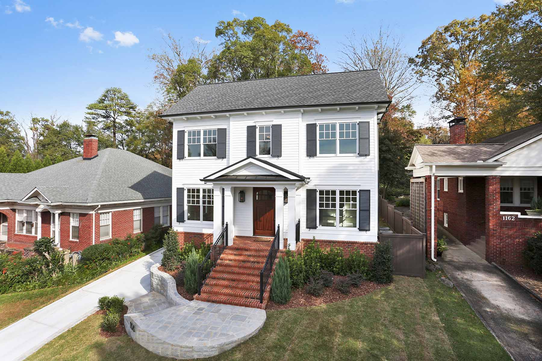 Single Family Home for Sale at Quality New Construction located in the popular intown neighborhood of VH 1158 Virginia Avenue NE Virginia Highland, Atlanta, Georgia 30306 United States
