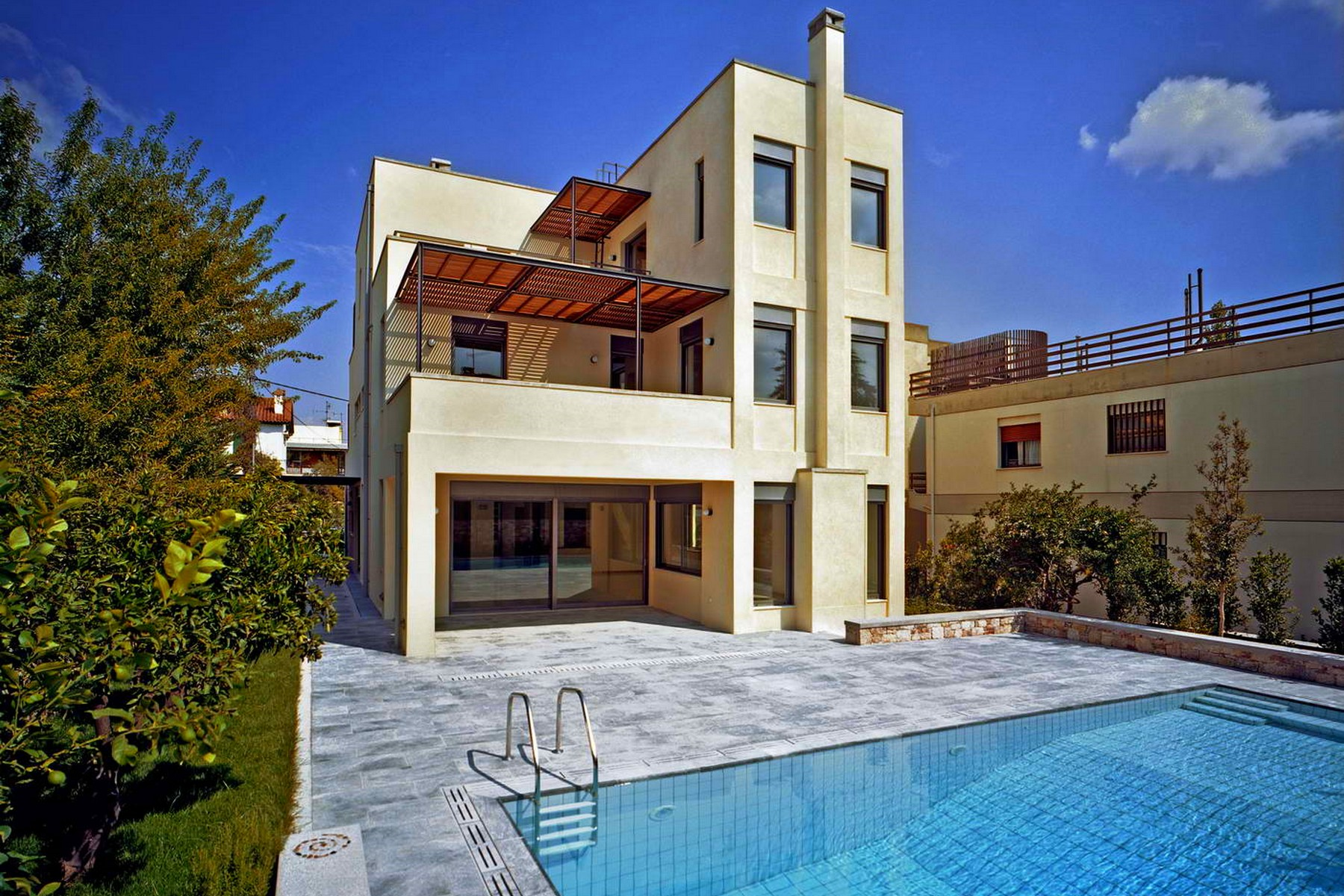 Single Family Home for Sale at Minimal Villa in Filothei Filothei, Athens, Greece Other Attiki, Attiki, 15237 Greece