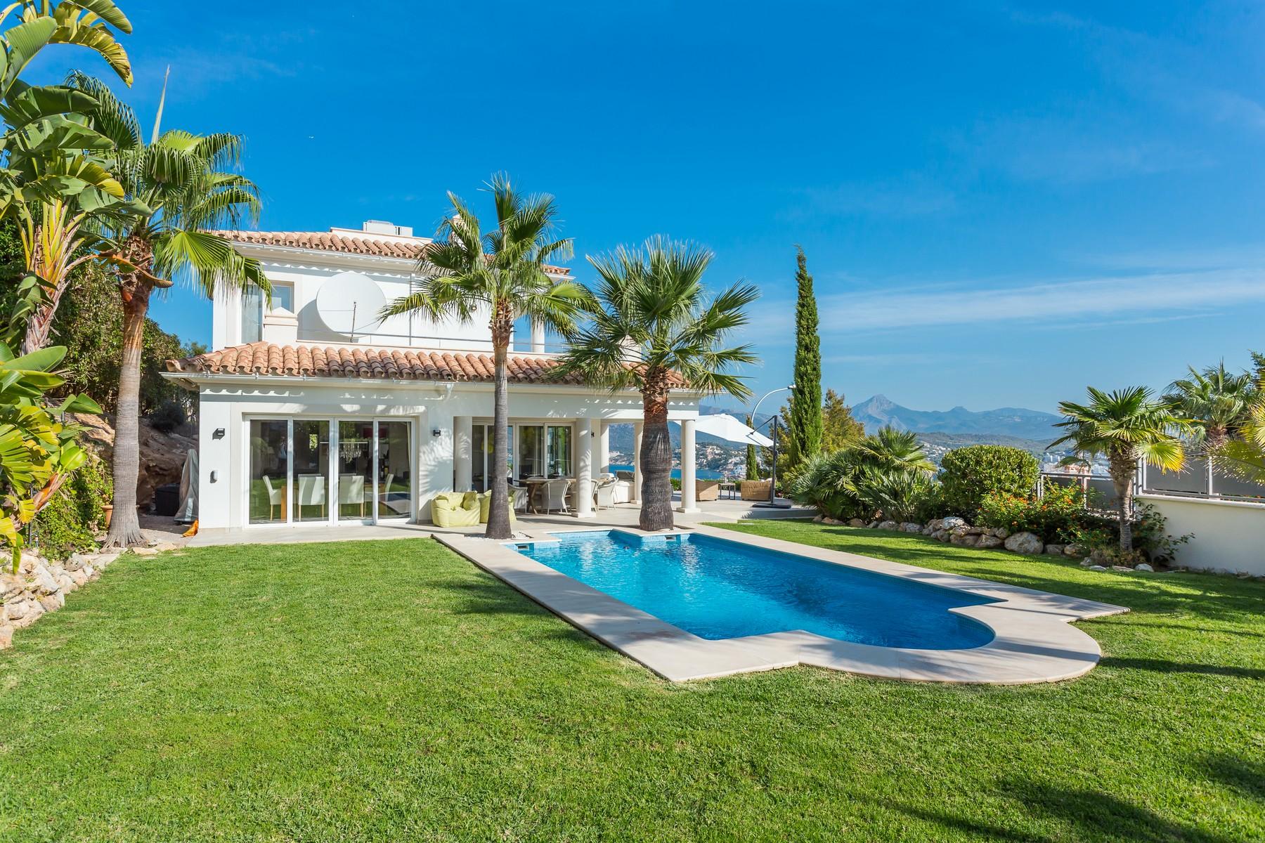 Single Family Home for Sale at Luxury villa with panoramic views in Santa Ponsa Nova Santa Ponsa, Mallorca, 07180 Spain
