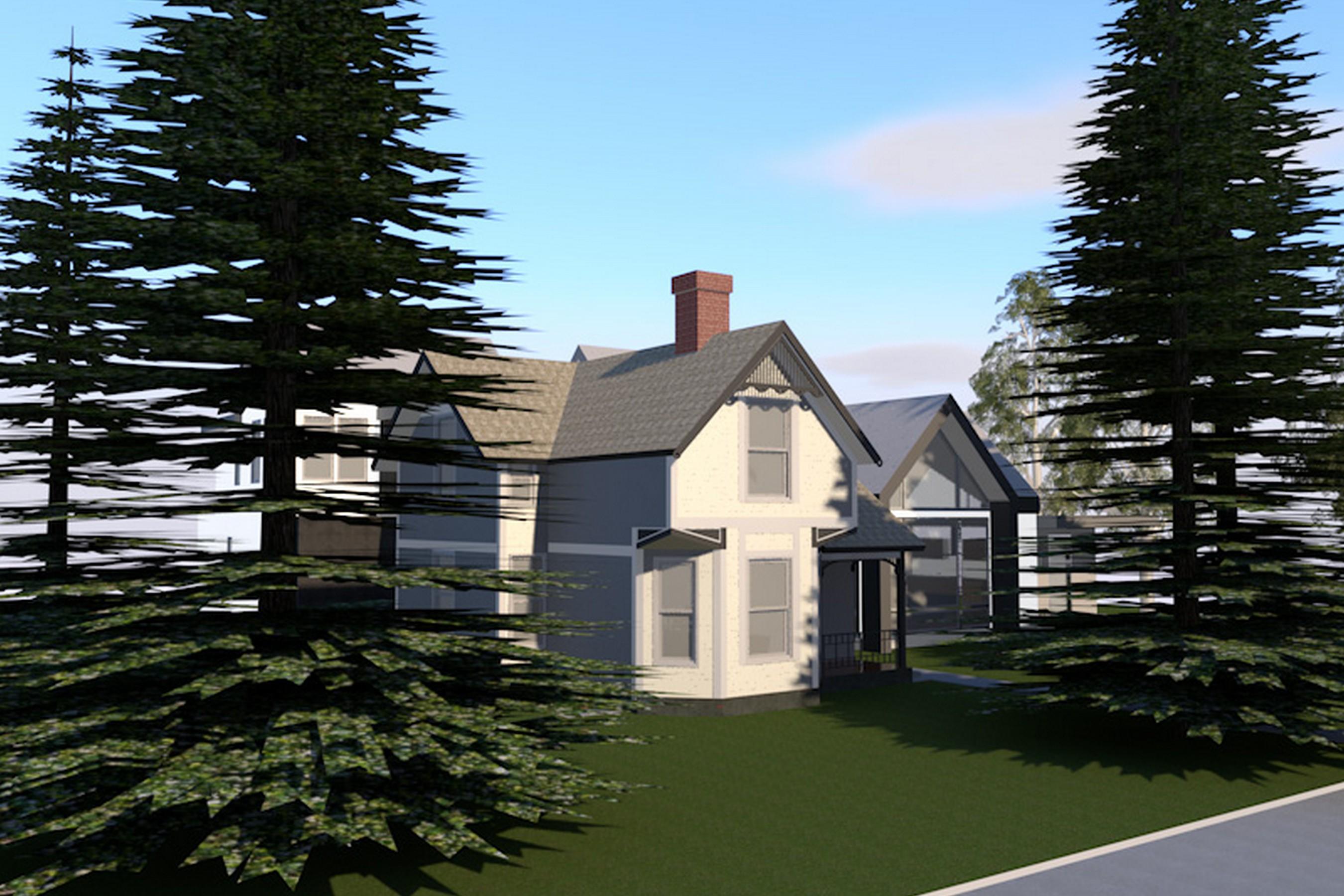 Частный односемейный дом для того Продажа на West End Victorian 530 W Hallam Street Aspen, Колорадо 81611 Соединенные Штаты