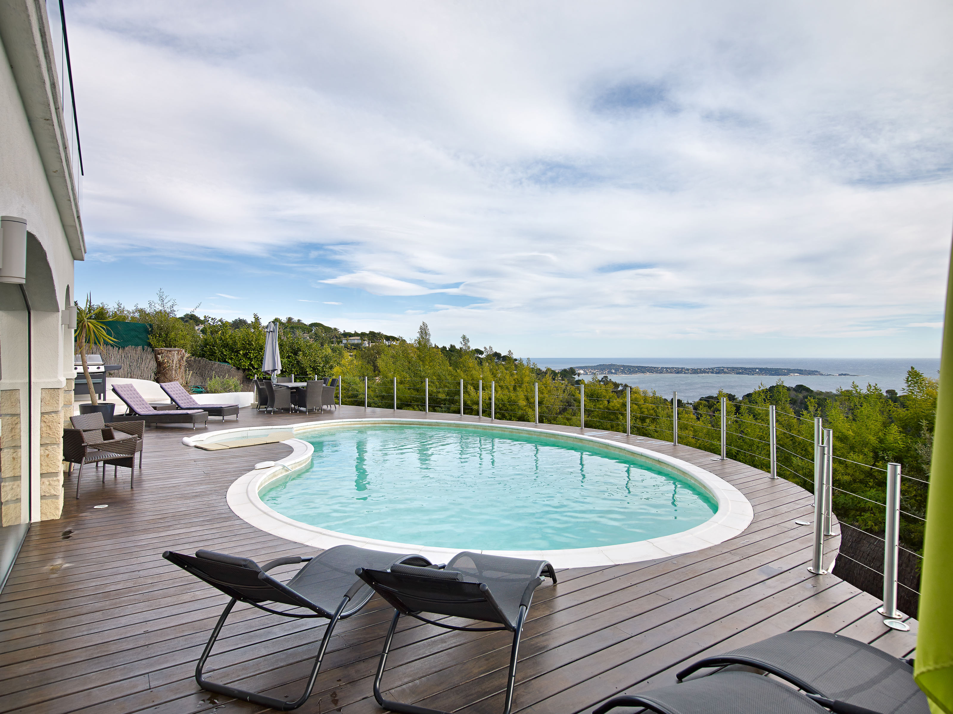 Single Family Home for Sale at PANORAMIC SEA VIEW - JOINT AGENT Cannes, Provence-Alpes-Cote D'Azur 06400 France