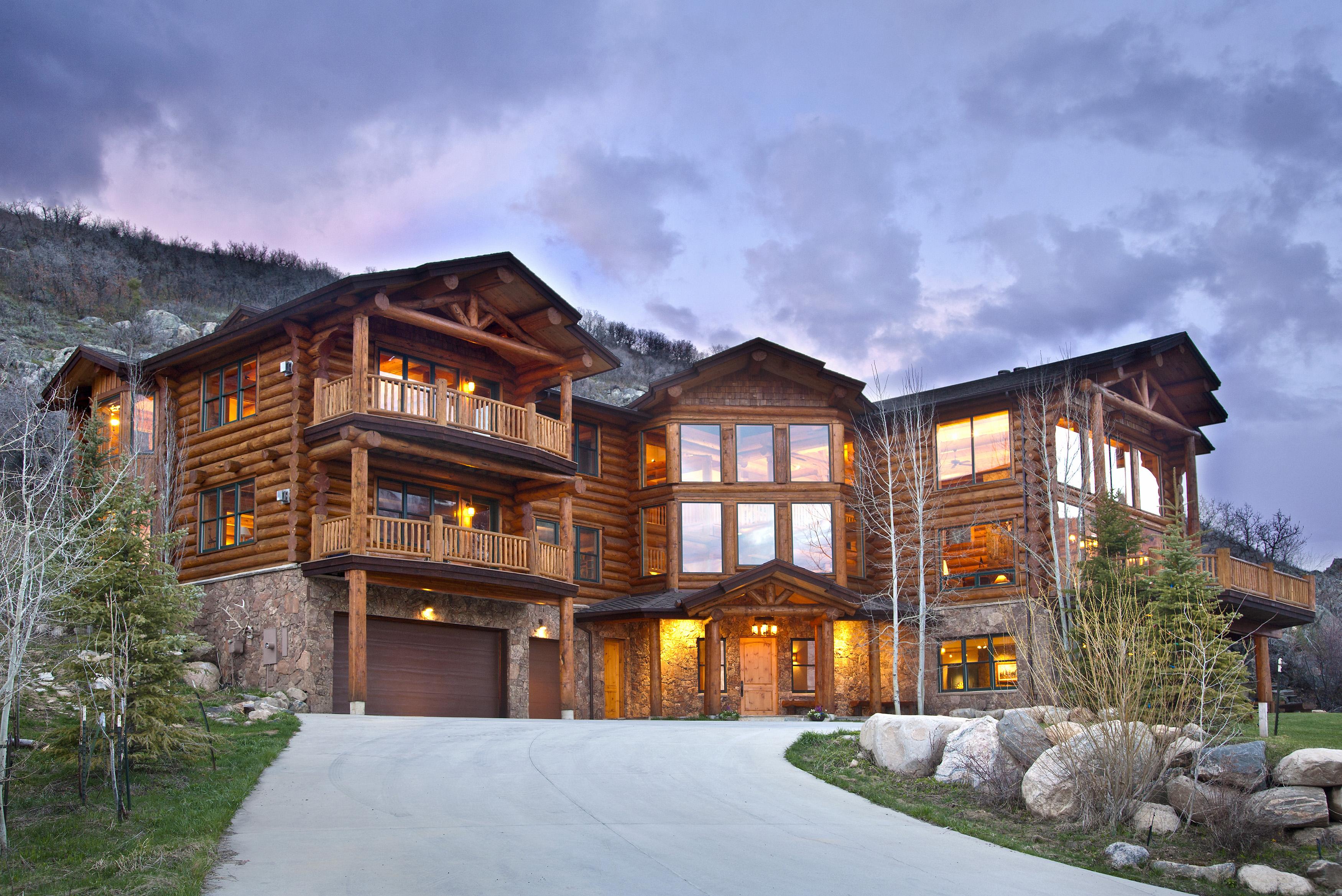 Einfamilienhaus für Verkauf beim Sanctuary Log Home 2600 Heavenly View Steamboat Springs, Colorado 80487 Vereinigte Staaten