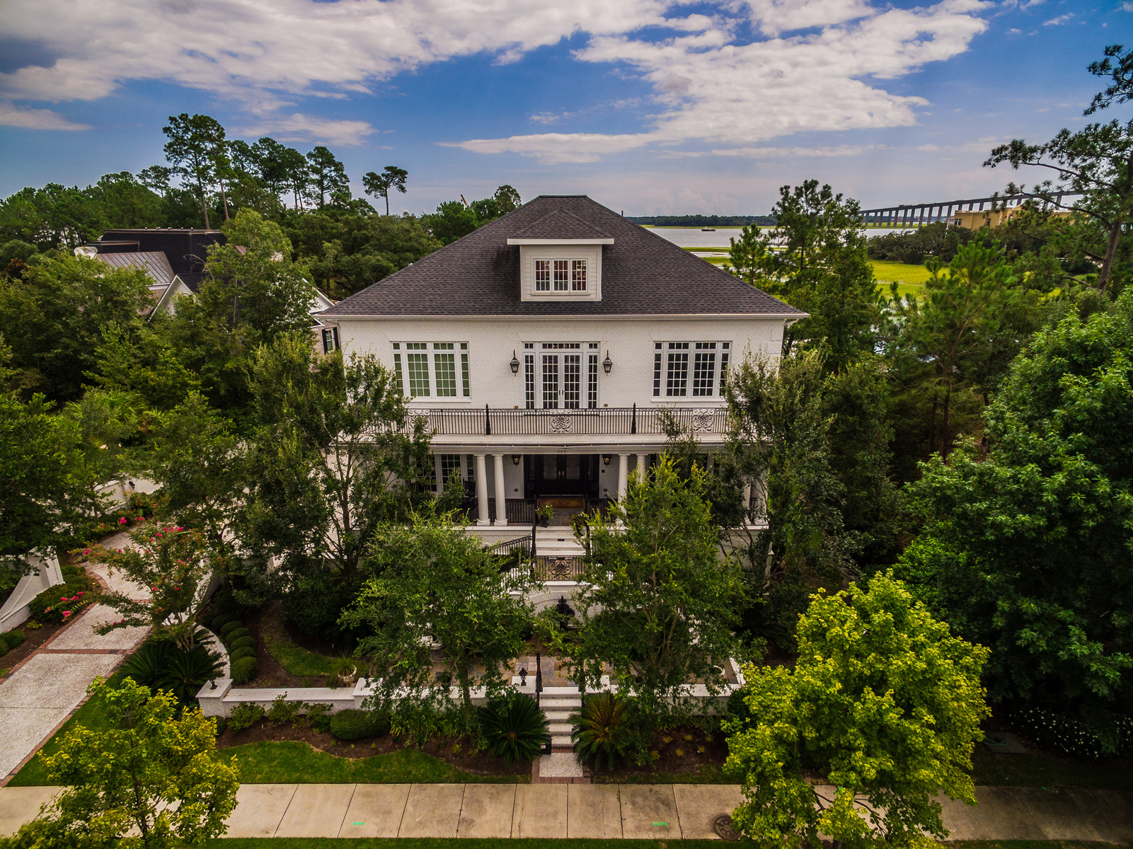 sales property at Stunning Marsh Front Custom Home