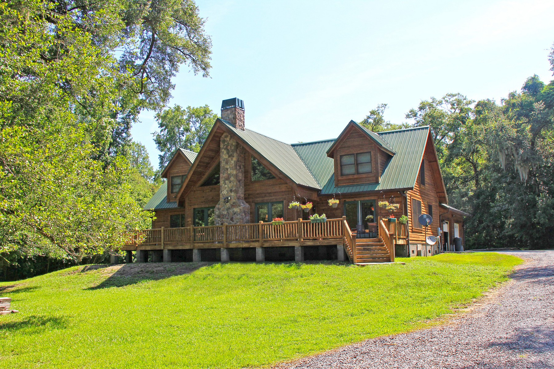 sales property at Log Home on Beautiful Lot