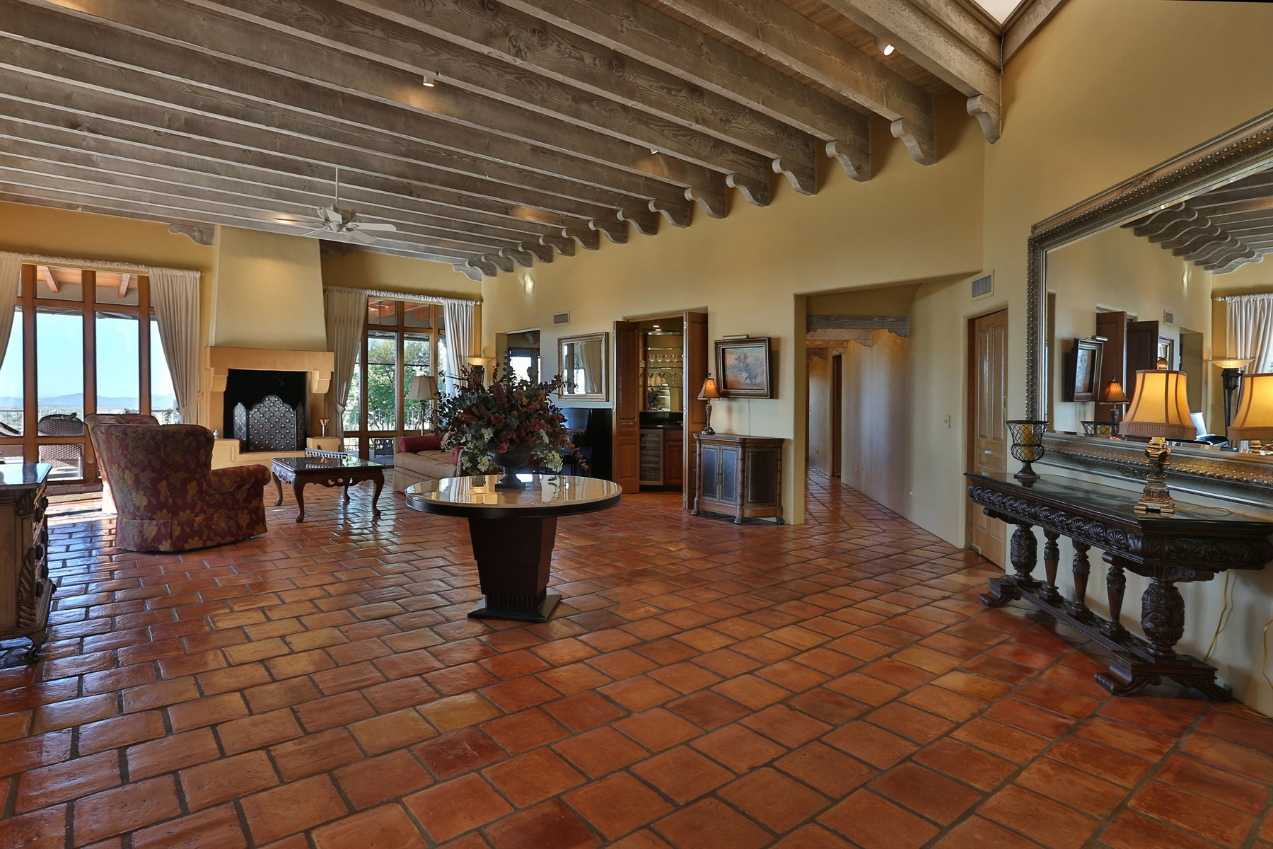 Single Family Home for Sale at Stunning valley views on two acres in one of Carefrees finest neighborhoods 6527 E EL Sendero Rd Carefree, Arizona, 85377 United States