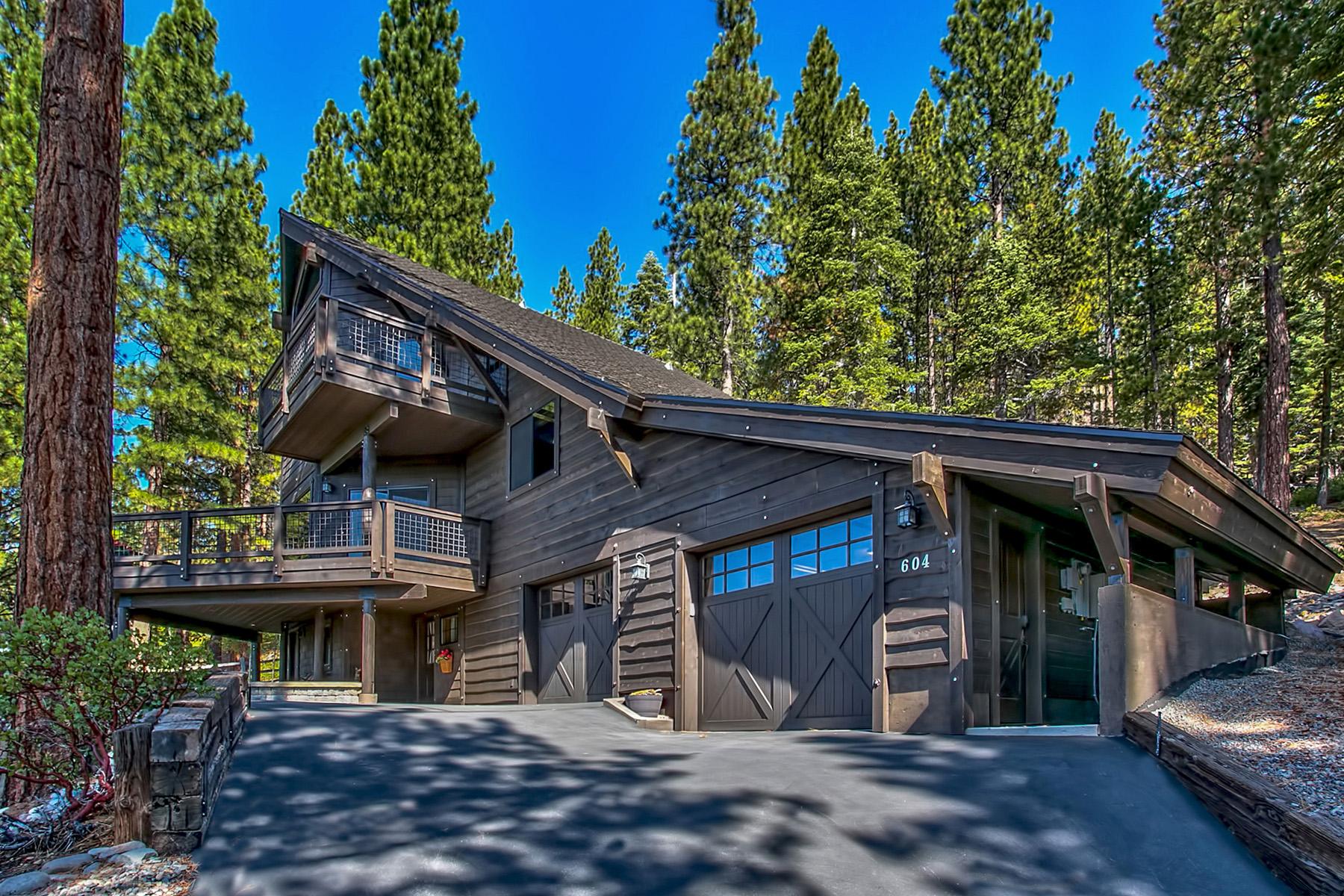 Maison unifamiliale pour l Vente à 604 Doeskin Court Incline Village, Nevada 89451 États-Unis