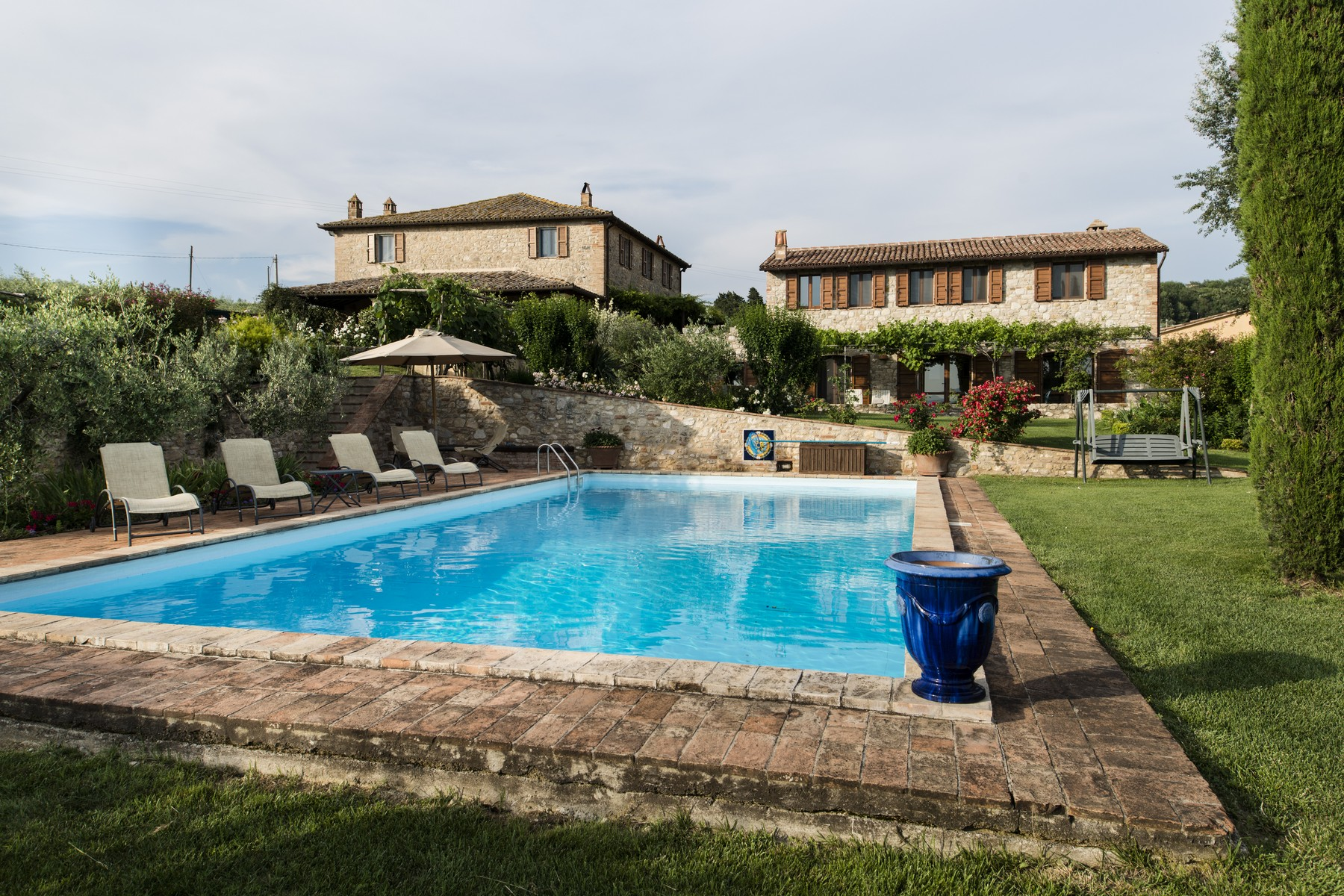 Single Family Home for Sale at Enchanting estate on the Umbrian hills Todi Frazione Monticello vocabolo le mandorelle Todi, Perugia 06059 Italy