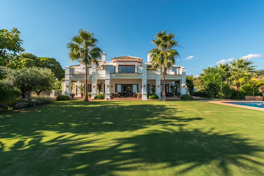 Single Family Home for Sale at Magnificent residence Monte Mayor Golf Benahavis, Costa Del Sol, 29679 Spain