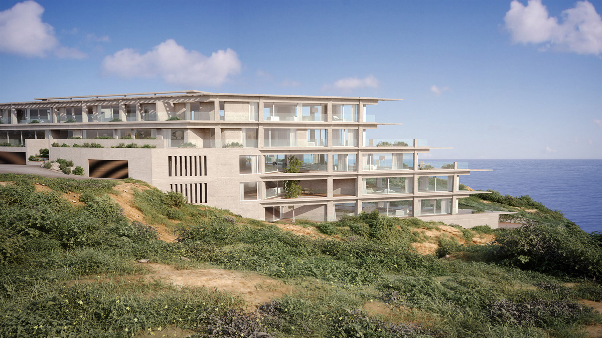 Property For Sale at Ultimate Privacy of Ocean-View Hi-Tech Apartment in Arsuf