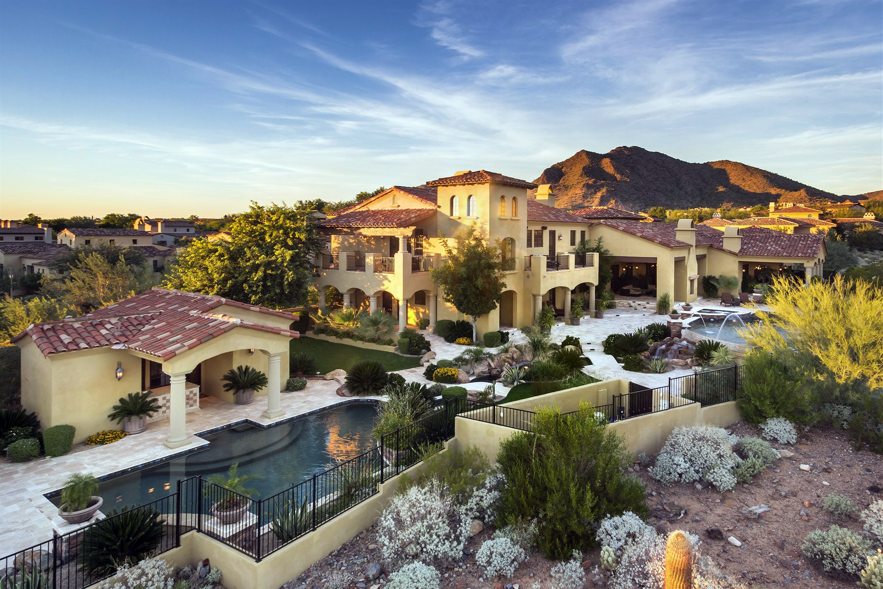Single Family Home for Sale at Deluxe Custom Residence In The Esteemed Exclusive Community Of Silverleaf 10211 E Chino Drive #1149 Scottsdale, Arizona 85255 United States