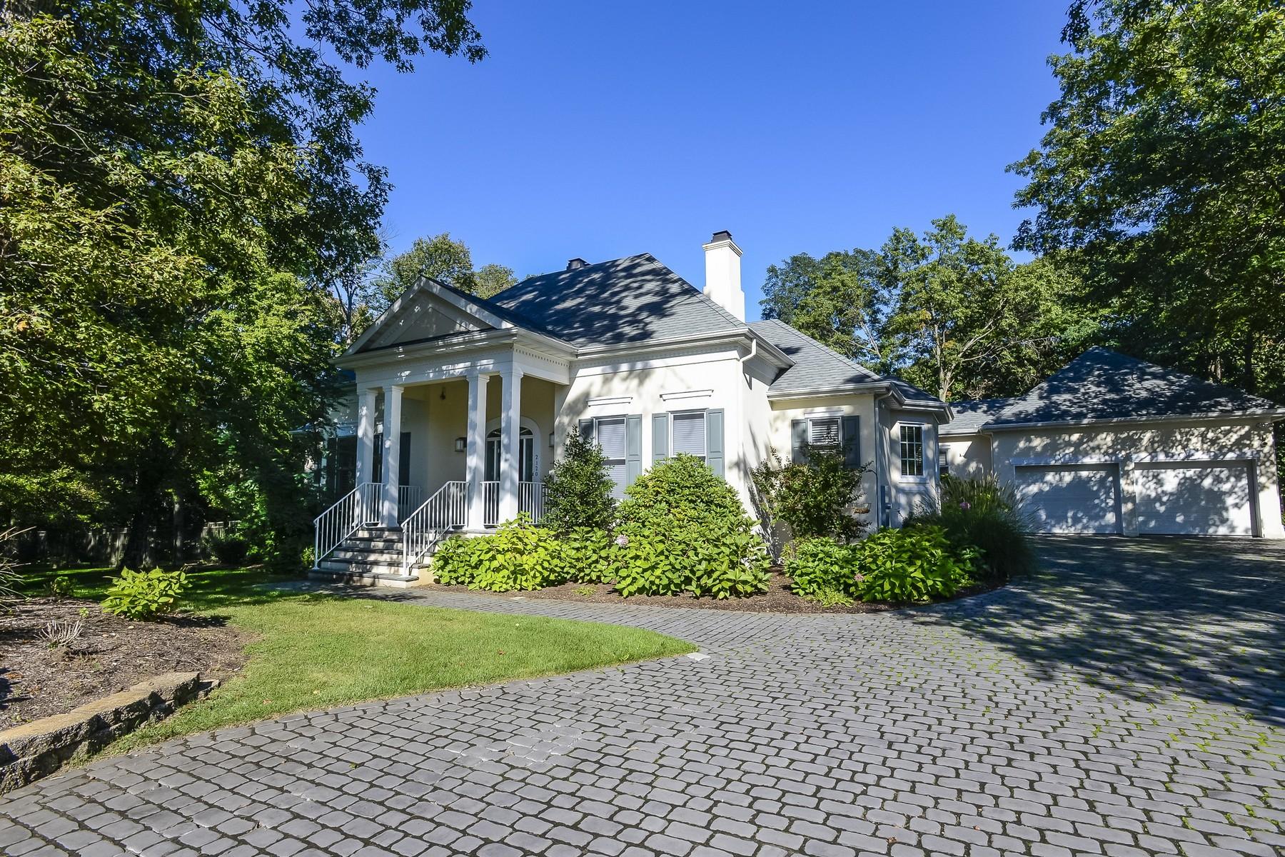 Maison unifamiliale pour l Vente à Stunning Private Retreat 2120 Baileys Corner Rd Wall, New Jersey 07719 États-Unis