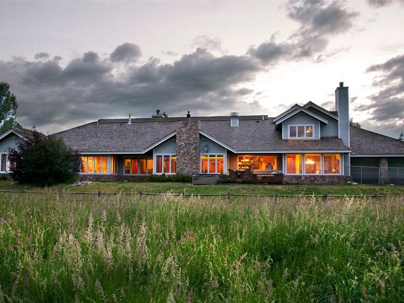 Einfamilienhaus für Verkauf beim Iron Horse Ranch 32750 County Road 14 Steamboat Springs, Colorado 80487 Vereinigte Staaten