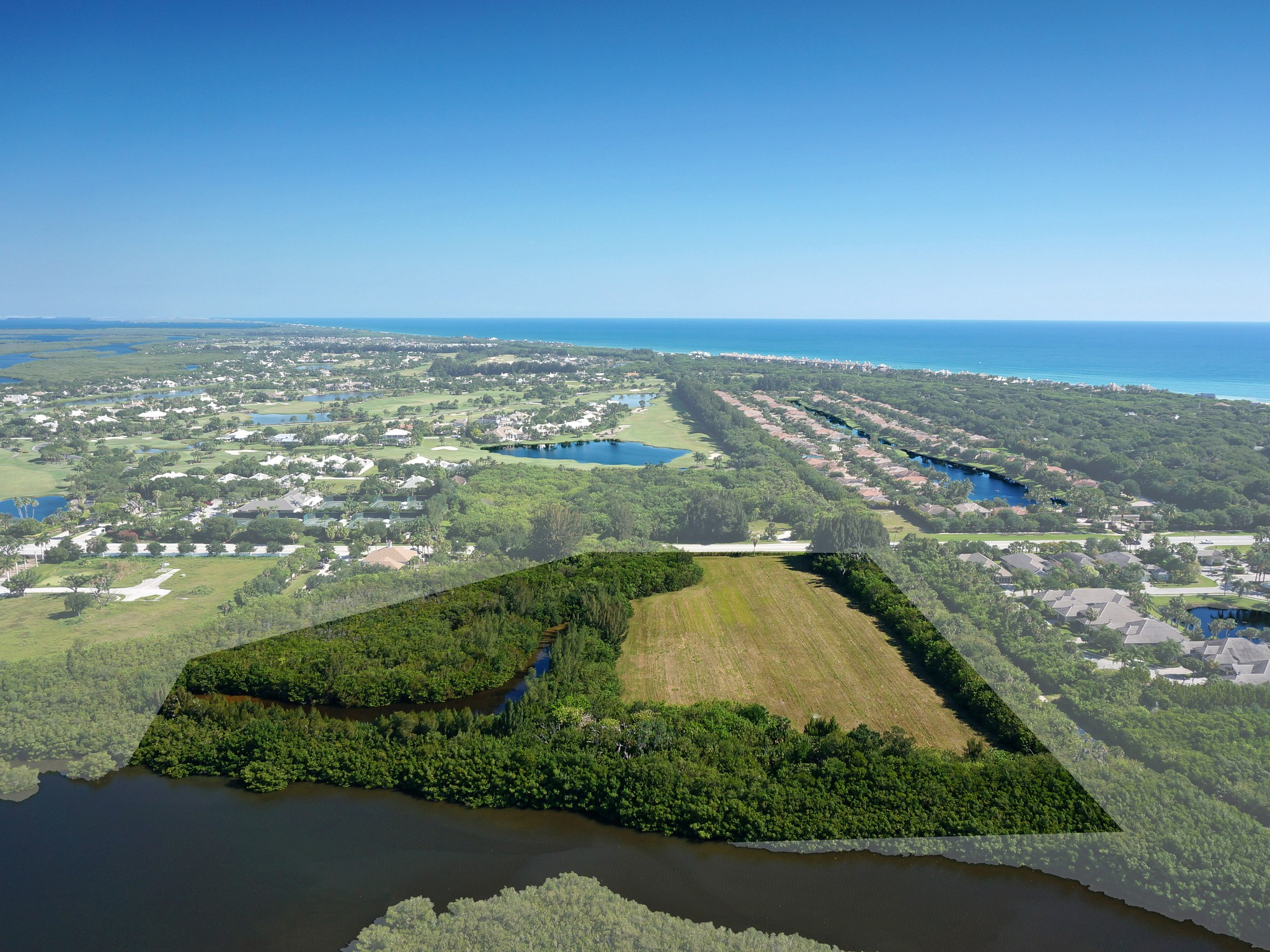 Terreno para Venda às Rare Waterfront Development C R 510 Vero Beach, Florida, 32963 Estados Unidos