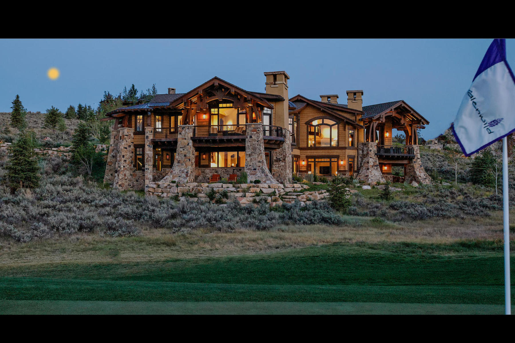 Moradia para Venda às Glenwild Masterpiece on the 5th Green 280 Hollyhock St Park City, Utah 84098 Estados Unidos
