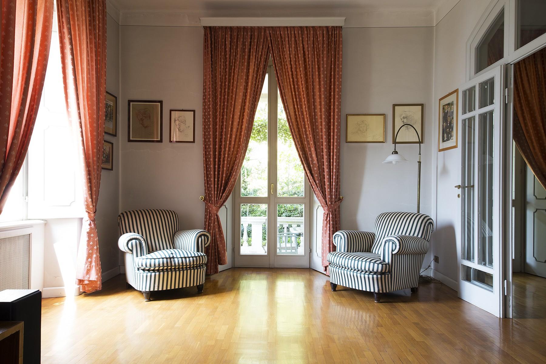 Additional photo for property listing at Historic villa in the best panoramic area of the city of Como Via Torno Como, Como 22100 Italia